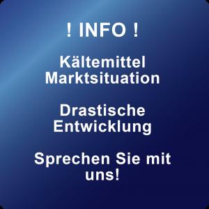 Button - Info - Kältemittel Marktsituation - Drastische Entwicklung